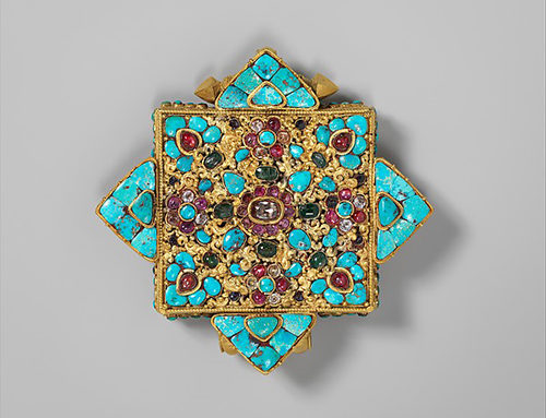 TIBETAN GAU AMULET BOX
