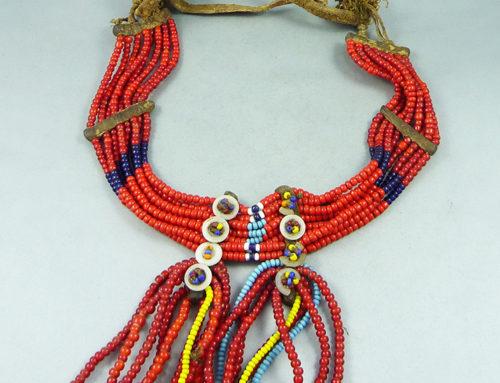 Sidamo or Oromo (Arsi) beaded necklace, Ethiopia