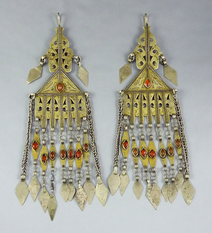 Turkoman earrings