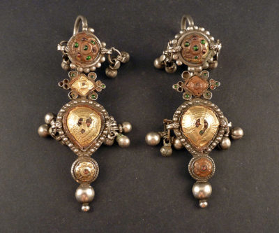 Pupat earrings rajasthan