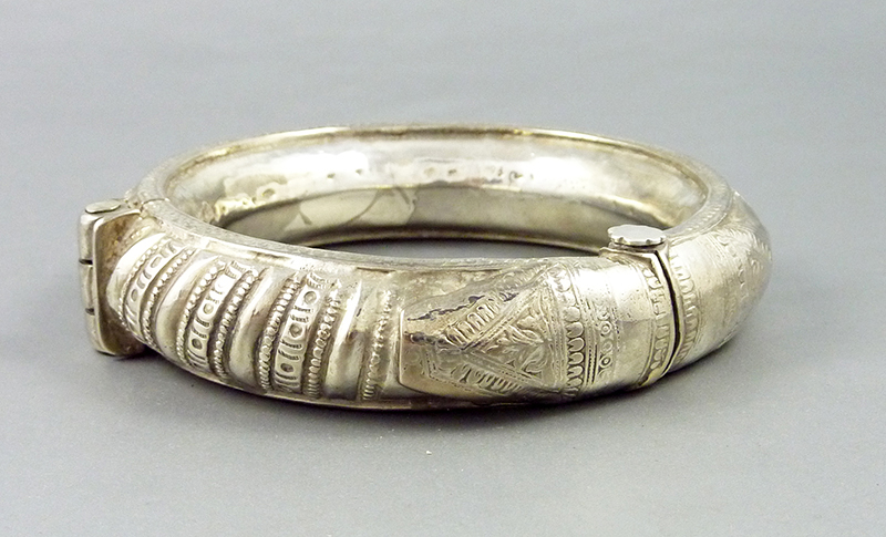 indian silver anklet