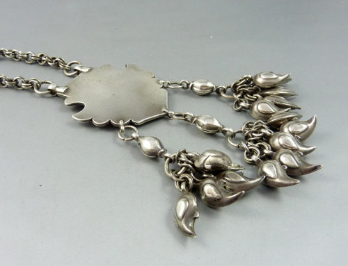 Herat silver necklace, Afghanistan
