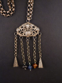 chinese silver necklace