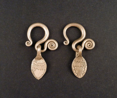 hill tribe earrings