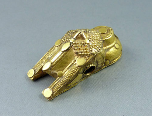 Gold thali pendant, South India