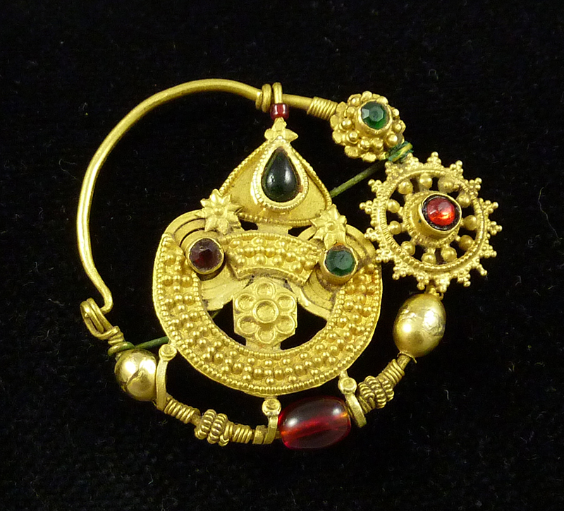 indian gold nose ring