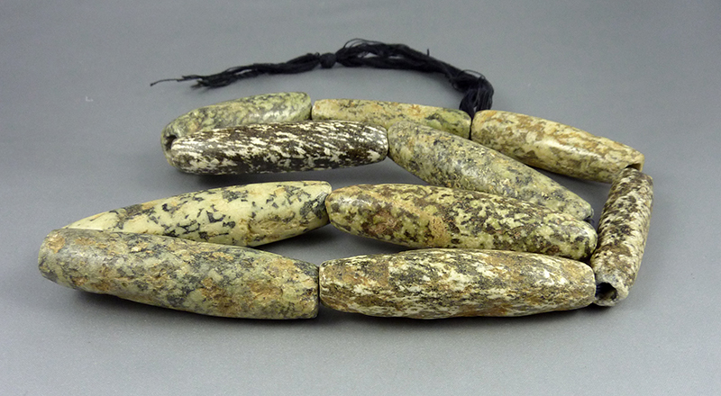 Neolithic african beads