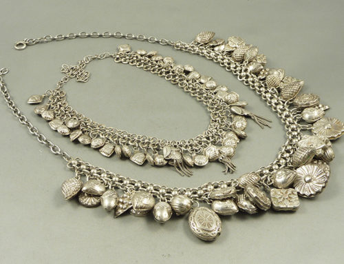 Silver Algerian necklaces
