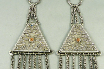 Tajik earrings