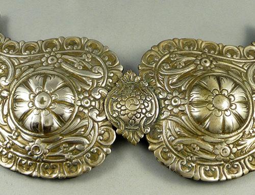 Ottoman Era belt buckle, Bulgaria