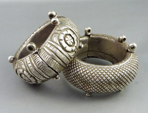 Pair of bracelets from Rajasthan, India