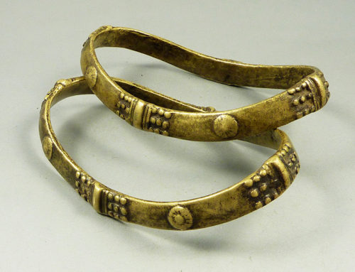Odisha bronze anklets, India