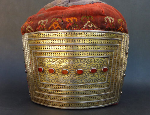 "Tekke head ornament ""Egme"", Central Asia"